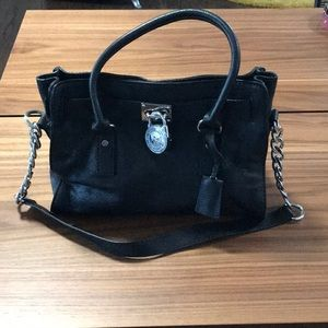 Michael Kors Black East West Hamilton Bag Like New